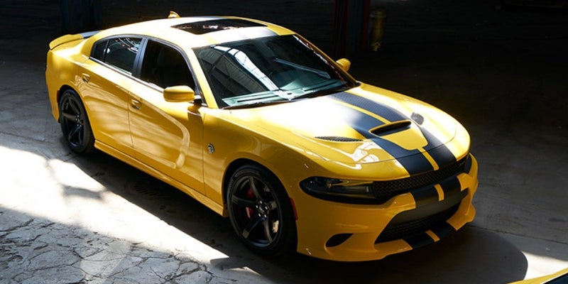 2019 dodge charger scat pack yellow 2 Dodge Charger